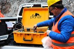 XRD Portable PLANET en utilisation de terrain